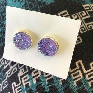Light purple studded Earrings!